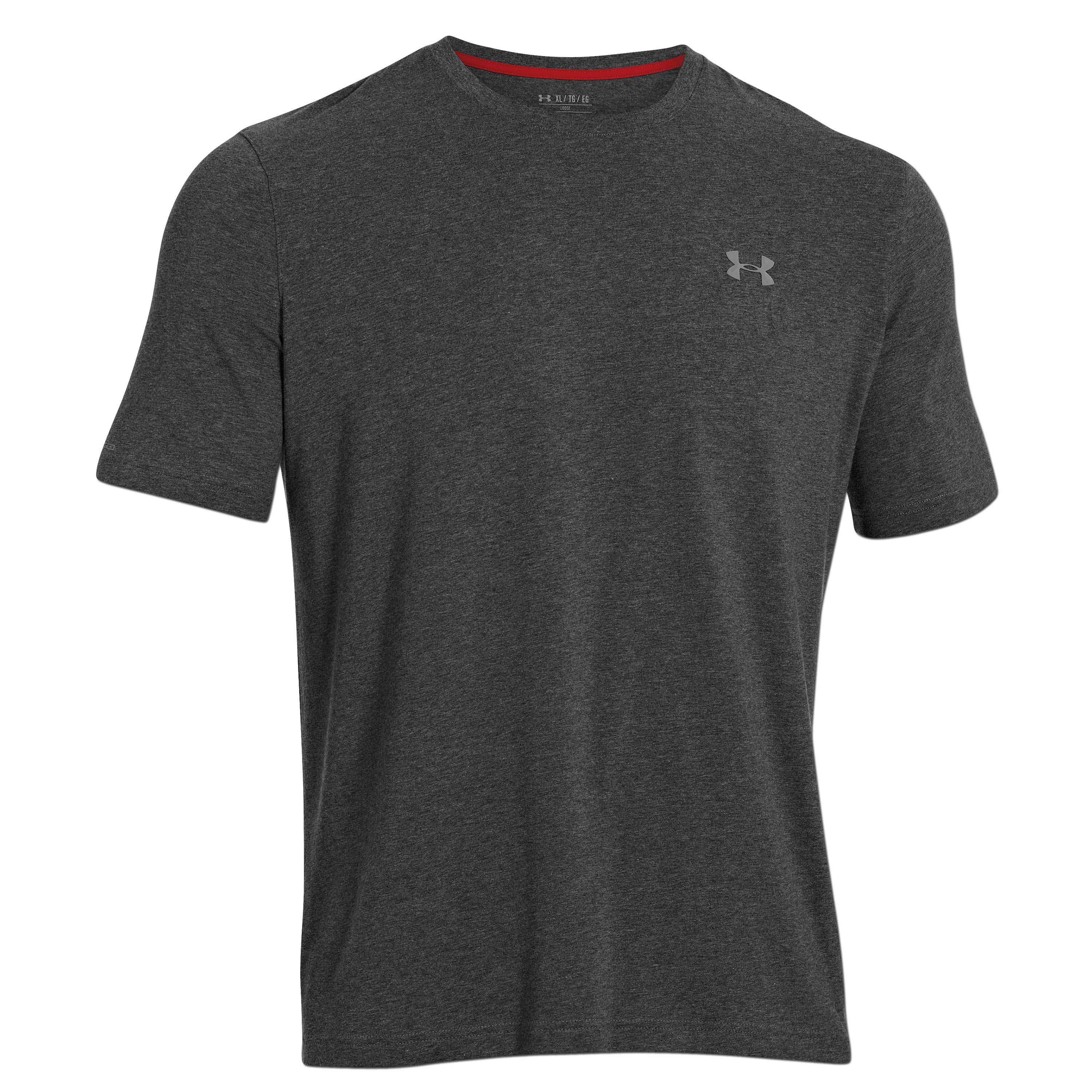 Under Armour T-Shirt Charged Cotton anthrazit