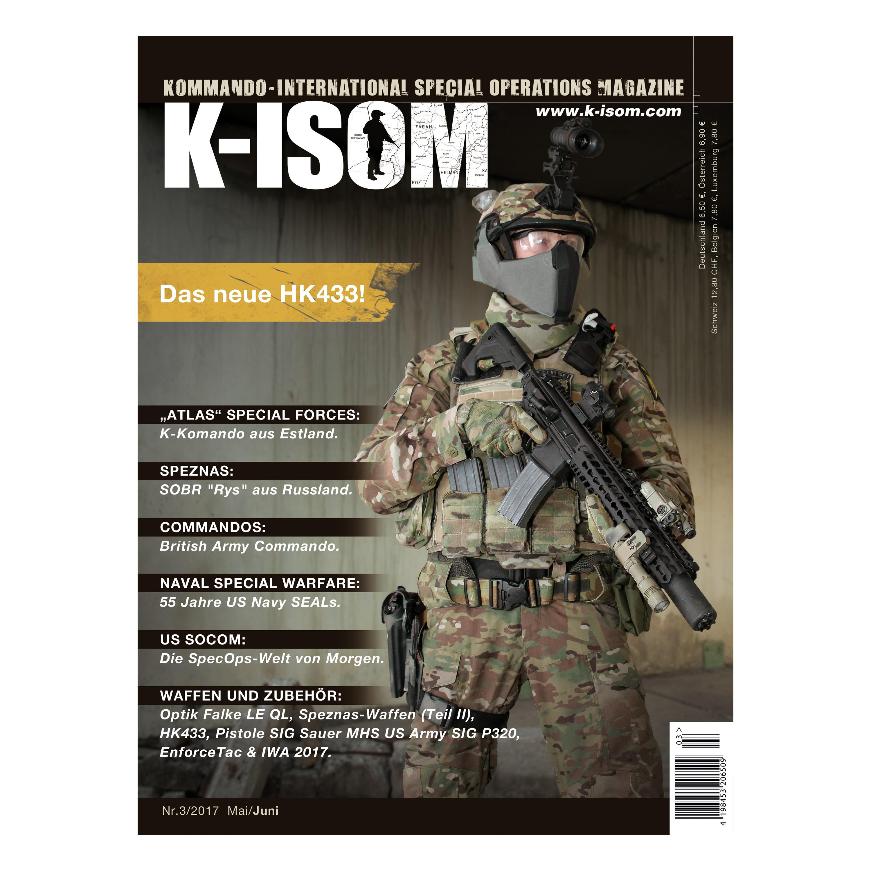 Kommando Magazin K-ISOM Ausgabe 03-2017