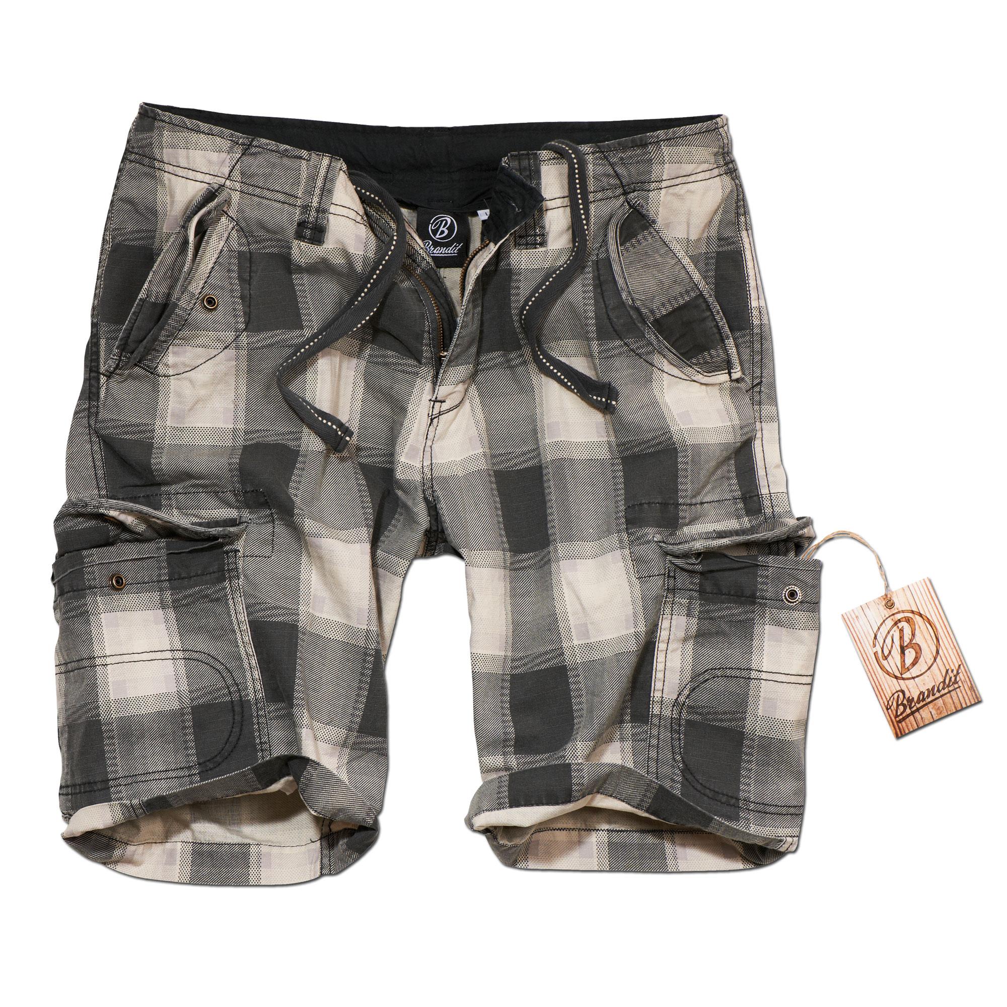 Shorts Brandit Iron Vintage grey checkered