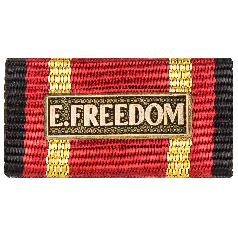 Ordensspange Auslandseinsatz Enduring Freedom bronze
