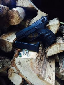 Walther P22 Q FDE Black