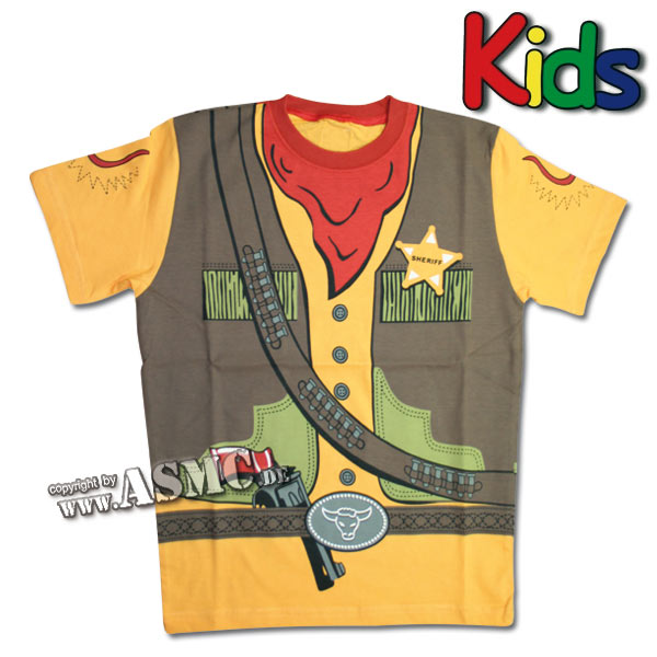 Kinder T-Shirt Sheriff