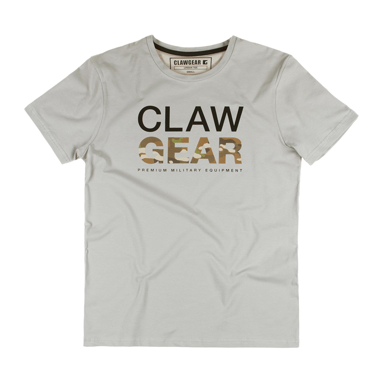 ClawGear Shirt Mc Tee light grey