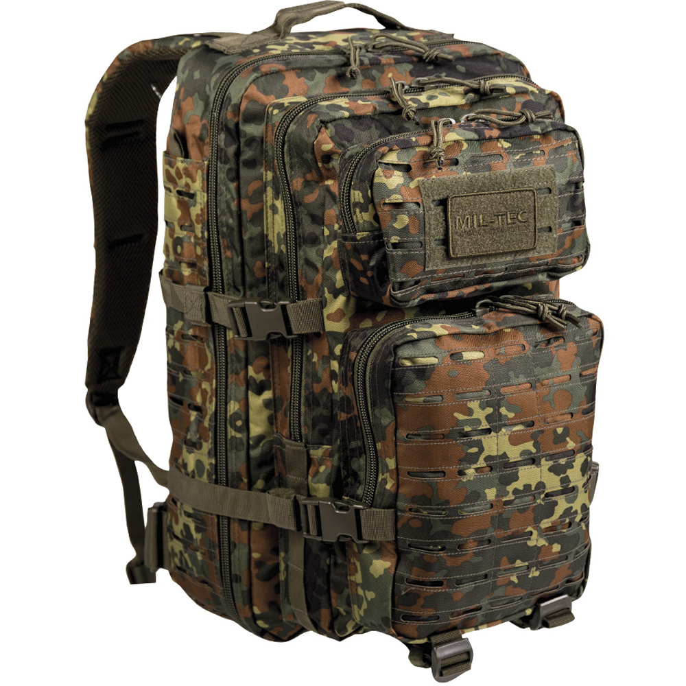 Rucksack US Assault Pack LG Laser Cut flecktarn