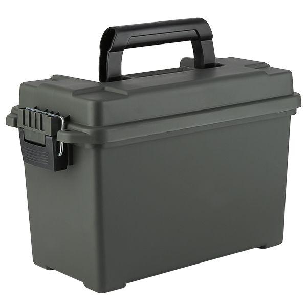 Munitionskiste US Kunststoff Cal. 50 oliv