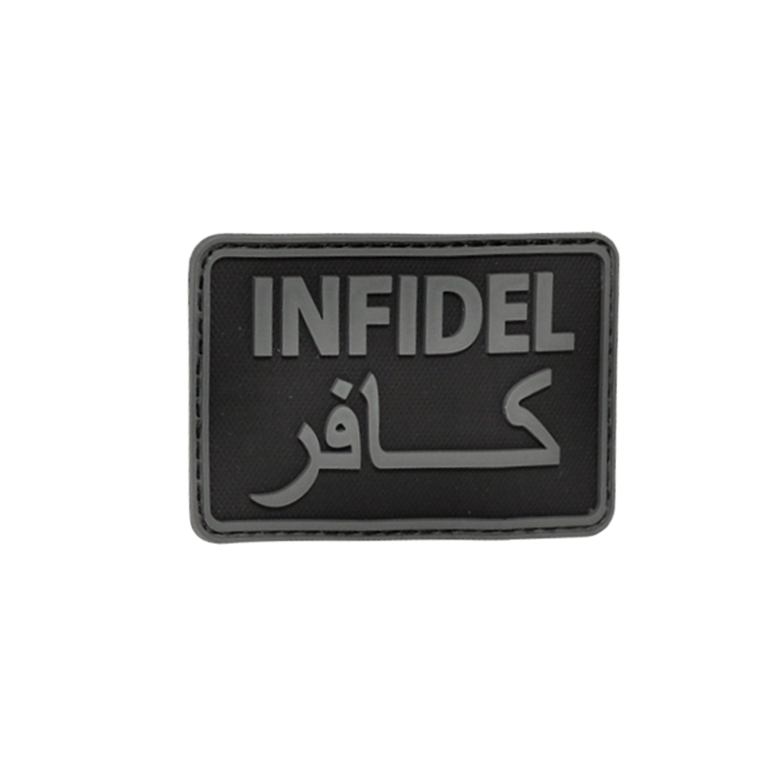 3D-Patch Hazard 4 Infidel schwarz