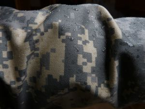 Jacke nach Einsatz im Regen