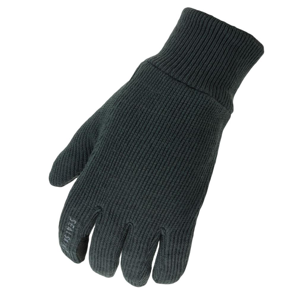 Sealskinz Handschuhe Windproof All Weather Knitted schwarz