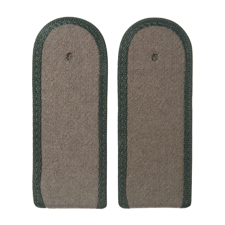 NVA Schulterklappen Soldat Paspel dunkelgrün