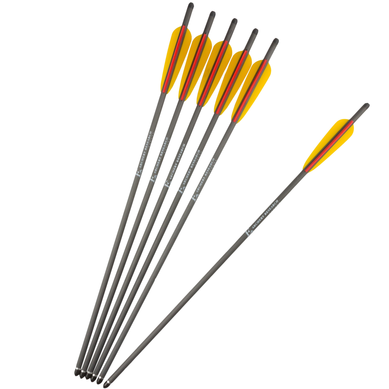 EK Archery Ersatzpfeile Carbon 22 Zoll 6 Stk. schwarz