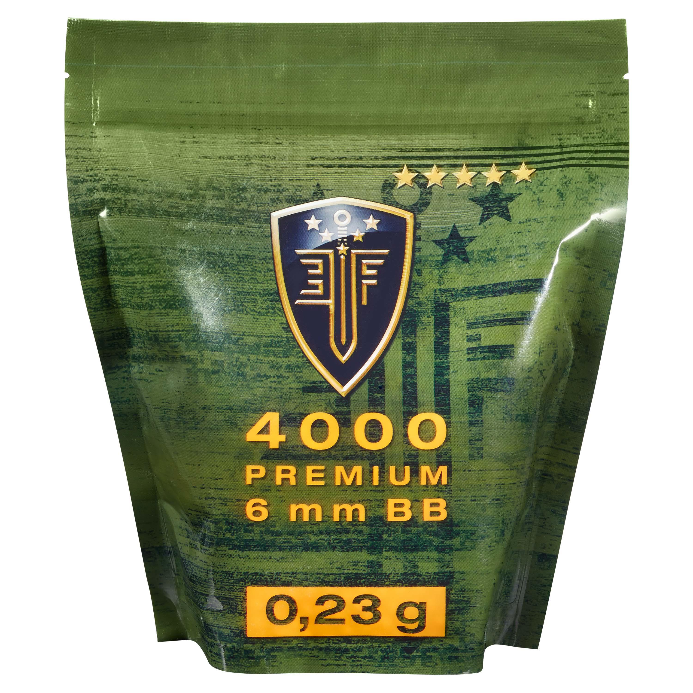 Elite Force Premium BBs 0.23 g 4000 Stk. Zipper-Bag weiß
