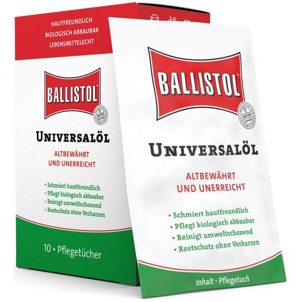 Ballistol Pflegetücher 10er Box