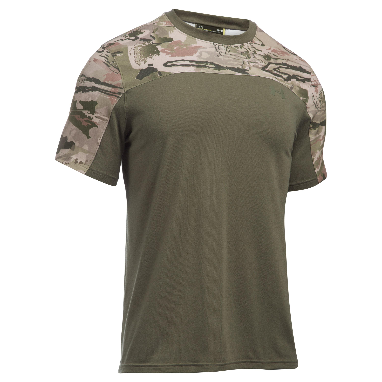 Under Armour T-Shirt Tac Combat Tee desert sand