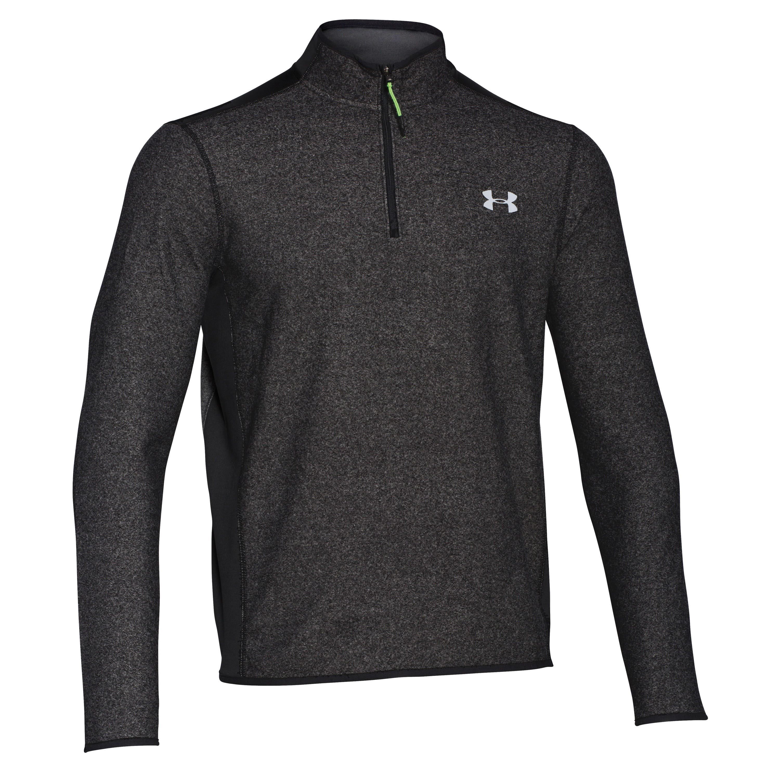 Under Armour Langarmshirt CGI Performance 1/4 Zip schwarz