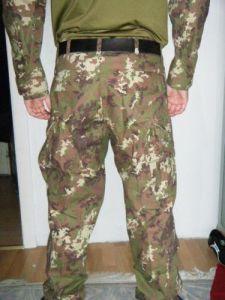 Die Hose von hinten