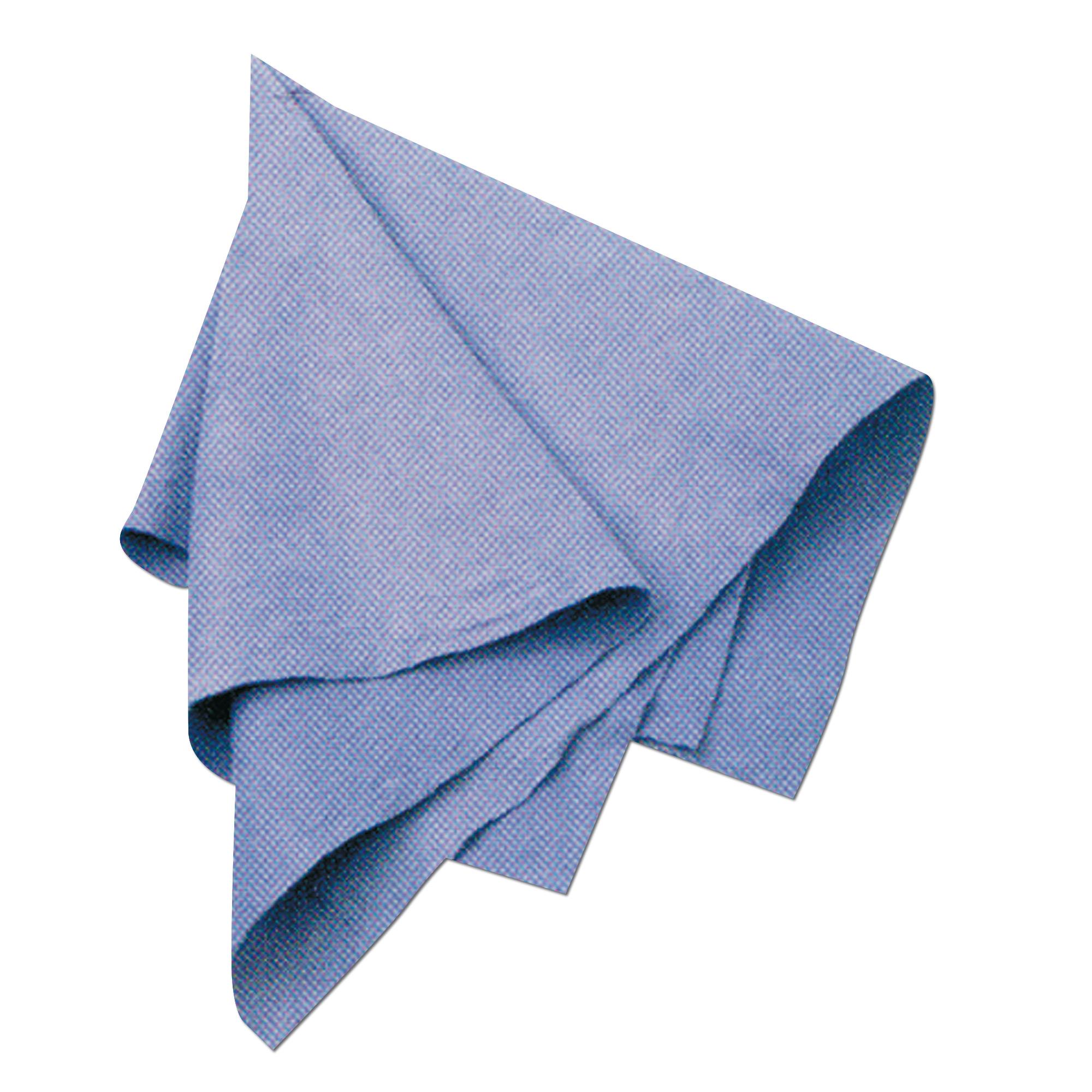 Handtuch Viskosefleece blau