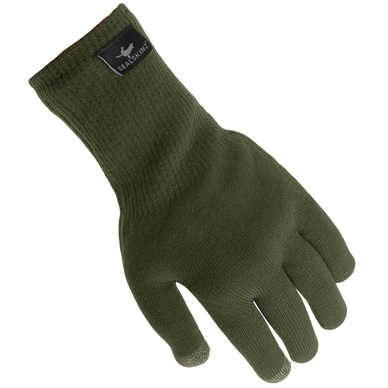 SealSkinz Handschuhe Ultra Grip Touchscreen oliv