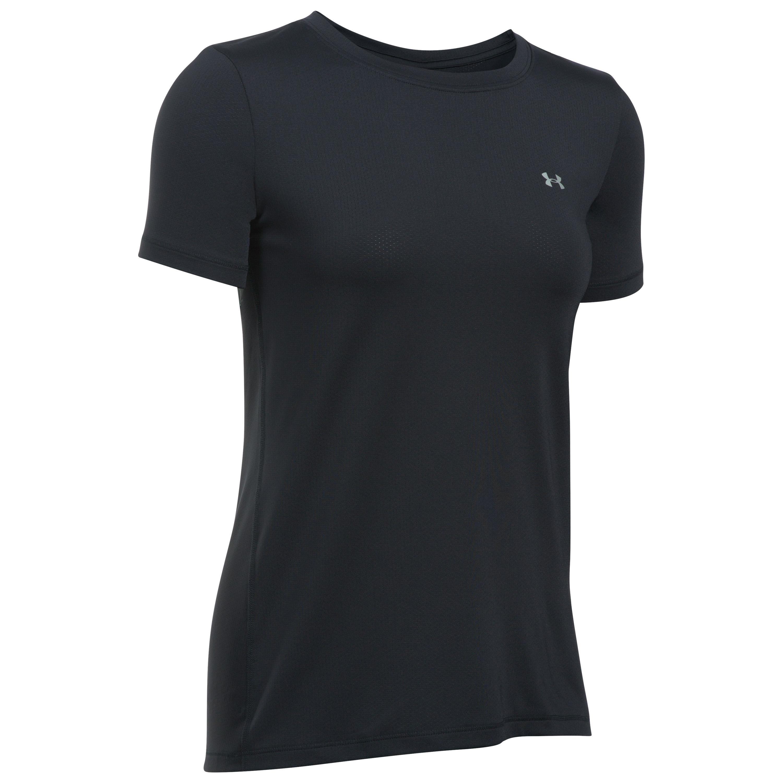 Under Armour Fitness Damen Armour Shirt schwarz silber