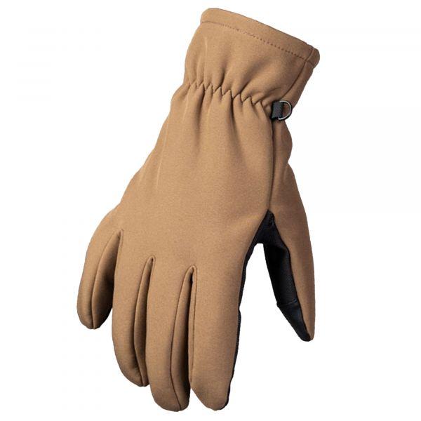 Mil-Tec Handschuhe Softshell Thinsulate dark coyote