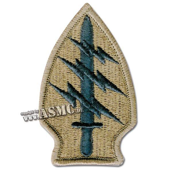 Abzeichen US Textil Special Forces desert