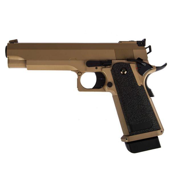 Cyma Airsoft Pistole Hi-Capa 5.1 AEP tan