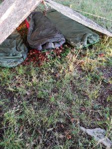 Schlafsack tactical 3 in einsatz