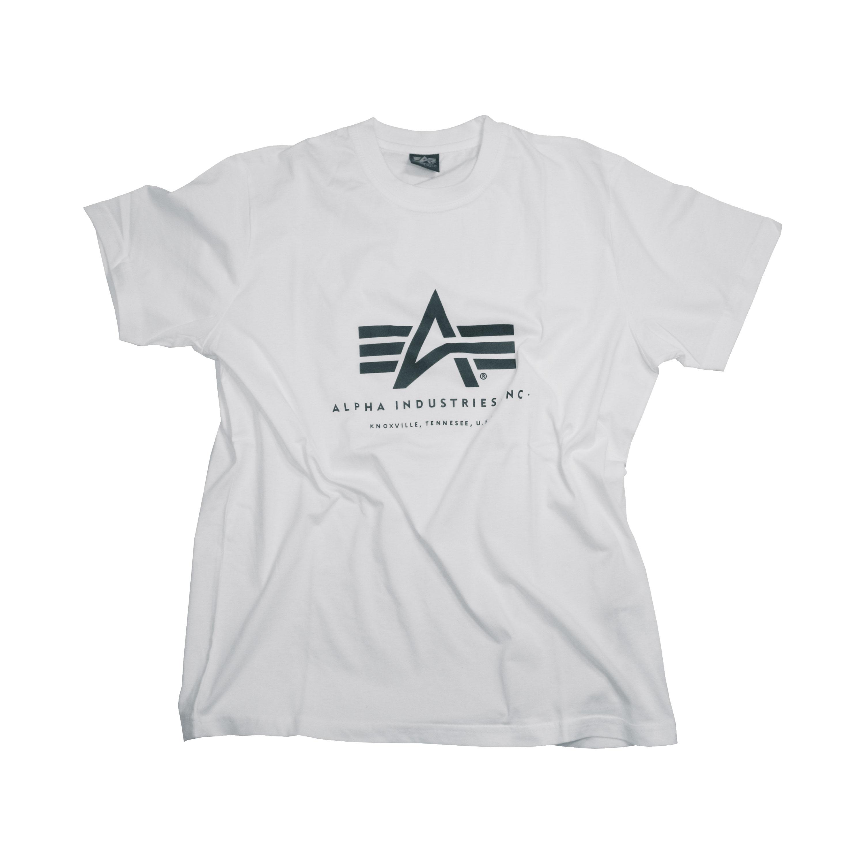 T-Shirt Alpha Industries Basic weiß