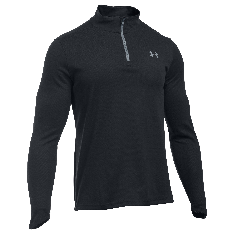 Under Armour Shirt Lightweight 1/4 Zip schwarz