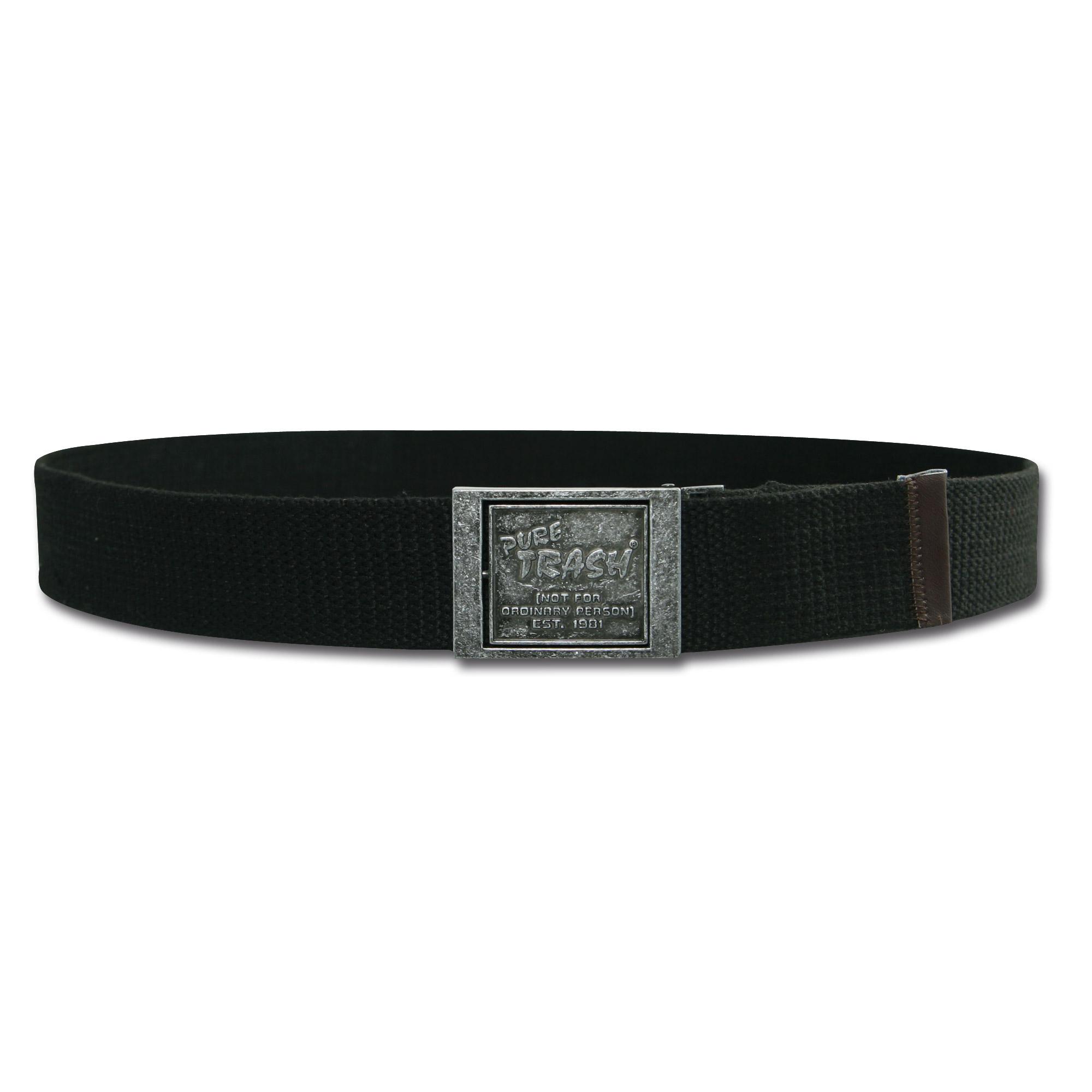 Hosengürtel Pure-Trash Type-III schwarz