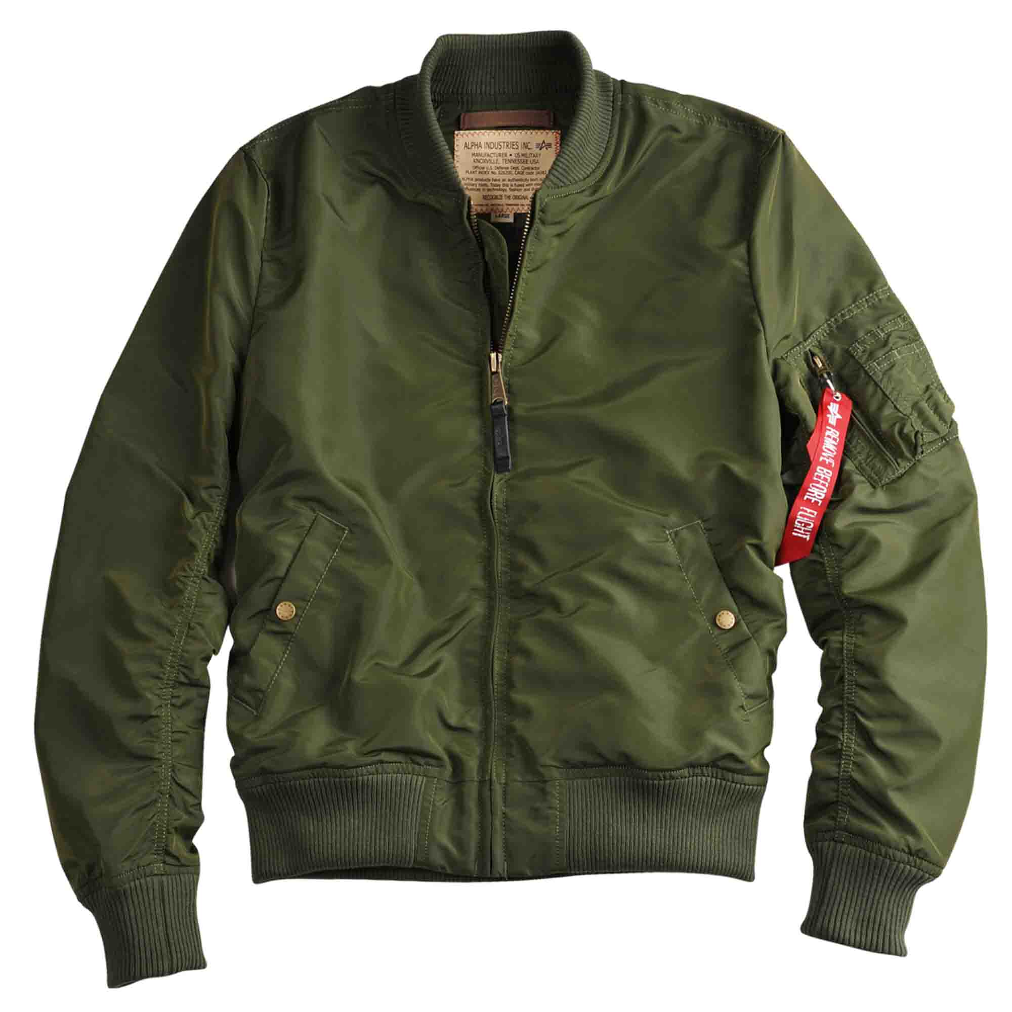 Alpha Industries Jacke MA-1 TT dark green