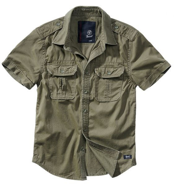 Brandit Shirt Vintage Shortsleeve oliv