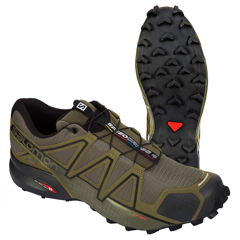 first rate f697c 51f54 Salomon Schuhe Speedcross 4 Wide oliv schwarz
