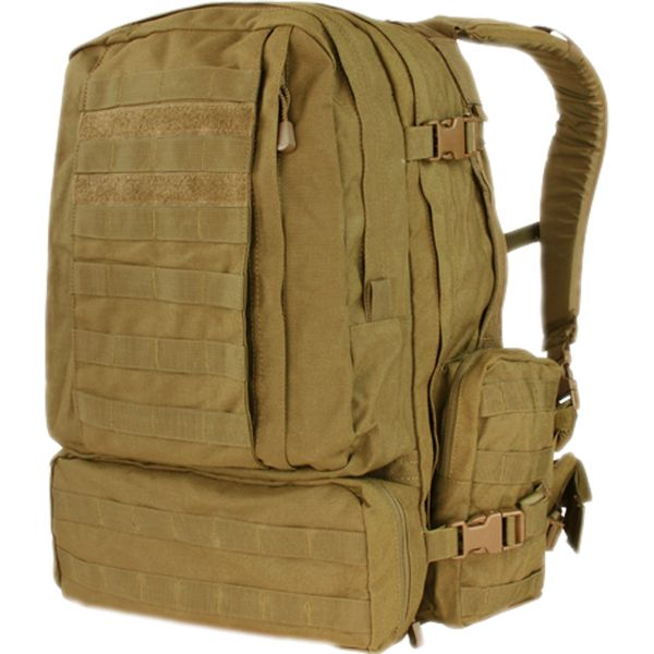 Condor Rucksack 3-Day Assault Pack coyote brown