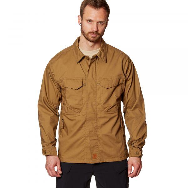 Helikon-Tex Hemd Woodsman Shirt coyote taiga green