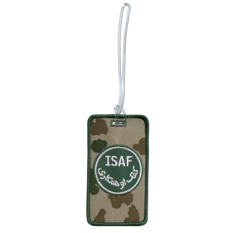 Kofferanhänger ISAF fleckdesert