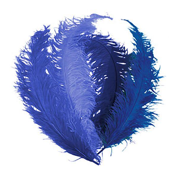 Feder blau