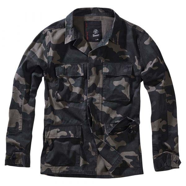 Brandit Jacke BDU Twill Jacket darkcamo