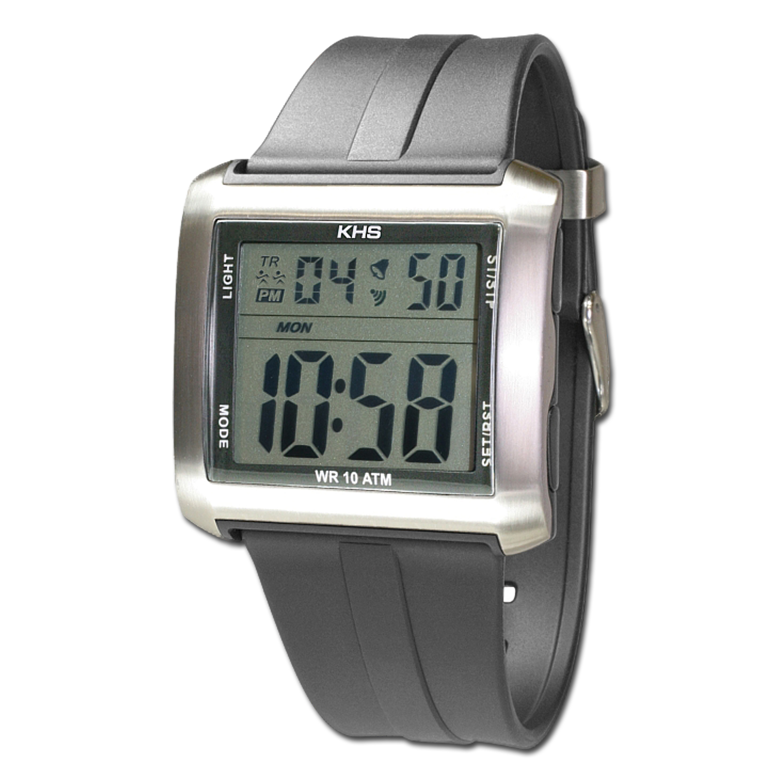 Uhr KHS Silencer grau