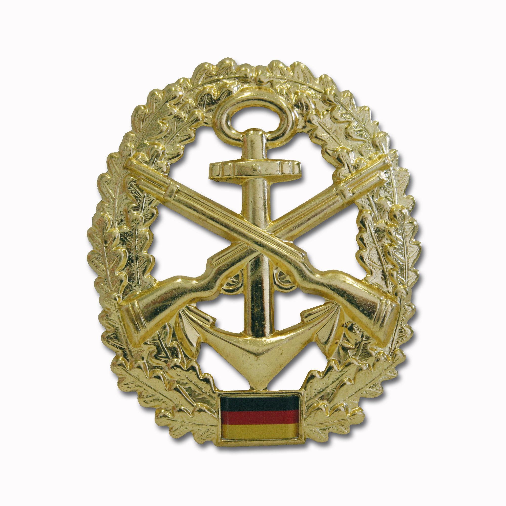 Abzeichen BW Barett Marinesicherung