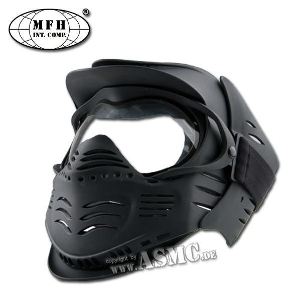 Schutzmaske MFH Fight schwarz