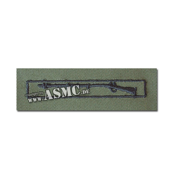 Abzeichen US Expert Infantry Stoff oliv