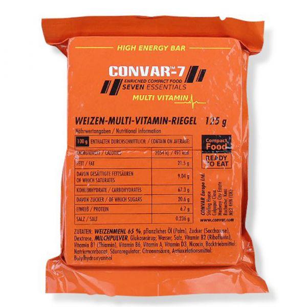 Convar-7 Riegel High Energy Bar Multi Vitamin