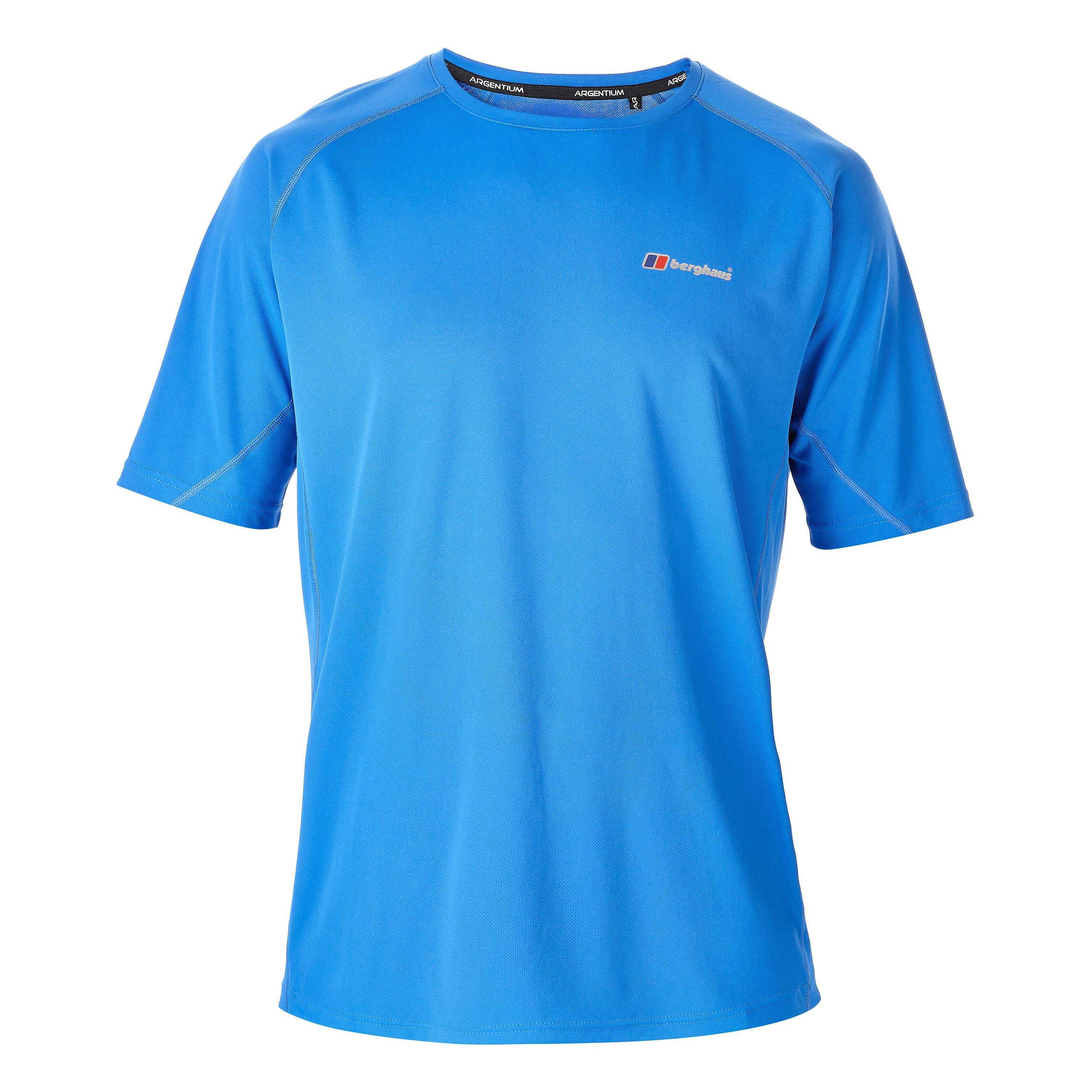 Berghaus T-Shirt Crew Neck Technical blue lemonade