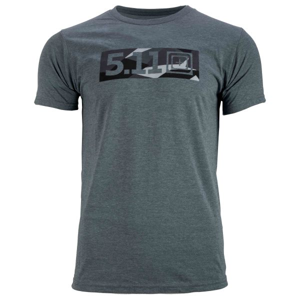 5.11 T-Shirt Razzle Dazzle Legacy Tee ash heather