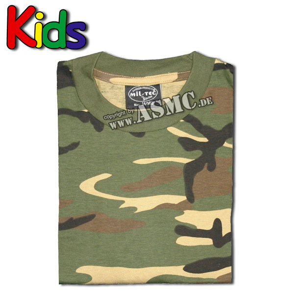 Kinder T-Shirt woodland