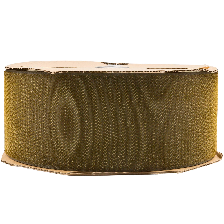 Klettband oliv 100mm Haken Meterware