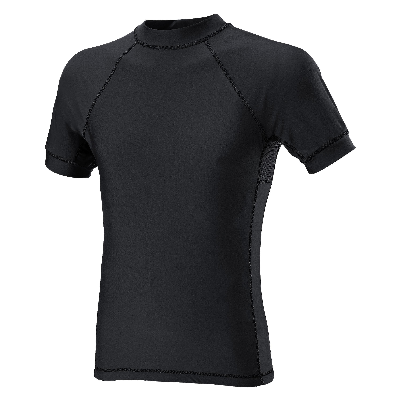 Defcon 5 Kurzarmshirt Lycra+Mesh schwarz