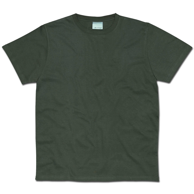 T-Shirt Vintage Industries Wing oliv