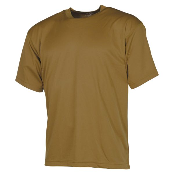 MFH T-Shirt Tactical coyote tan