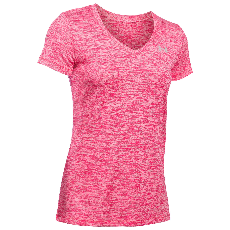Under Armour Women Shirt Tech Twist pink